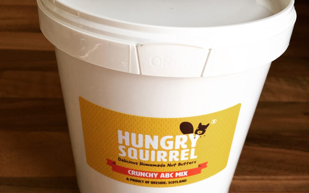 9 March 2018 – Launch of our 1kg tubs of Hungry Squirrel nut butter!