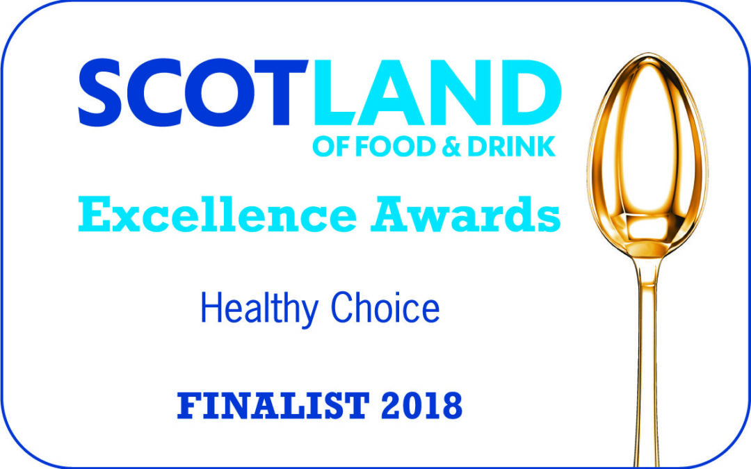 30 April 2018 – Shortlisted for Scotland Food & Drink Excellence Award