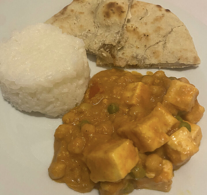 Chickpea and Paneer Curry Recipe