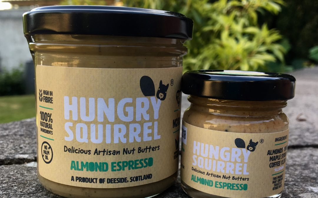 Saturday 2nd June – Launch of our new Almond Espresso nut butter
