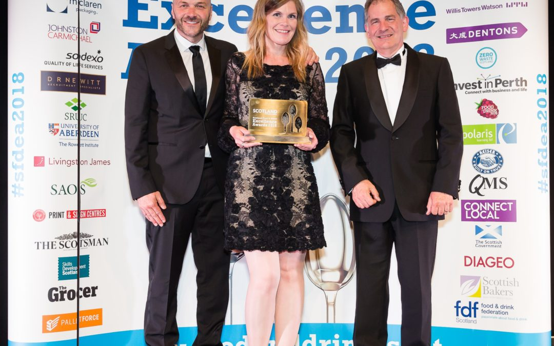 Thursday 7th June – Scotland Food & Drink Excellence Awards 2018